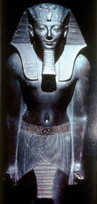 Statue of the great Pharaoh Thutmosis III
