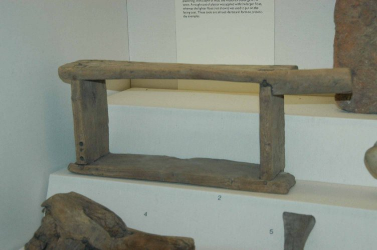 Ancient mudbrick mold