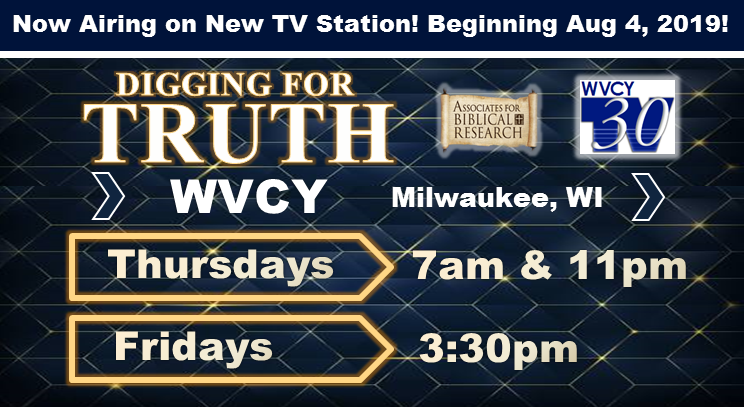 DIGGING FOR TRUTH now broadcast on WVCY TV